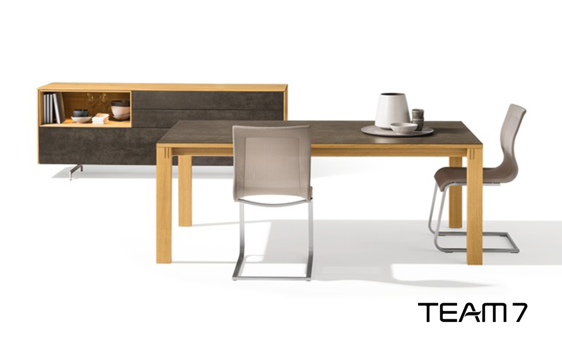 team 7 magnum tisch m belzentrum. Black Bedroom Furniture Sets. Home Design Ideas