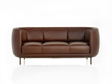 Vuelta Sofa in Leder